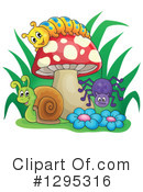 Royalty-Free (RF) Insect Clipart Illustration #1295316