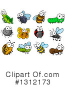 Royalty-Free (RF) Insect Clipart Illustration #1312173