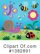 Royalty-Free (RF) Insect Clipart Illustration #1382891
