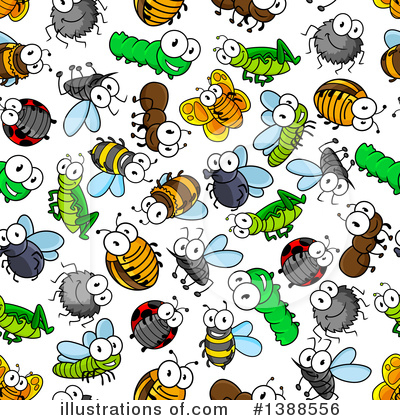 Bee Clipart #1388556 by Vector Tradition SM