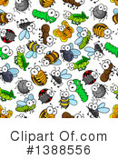 Royalty-Free (RF) Insect Clipart Illustration #1388556
