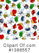 Royalty-Free (RF) Insect Clipart Illustration #1388557