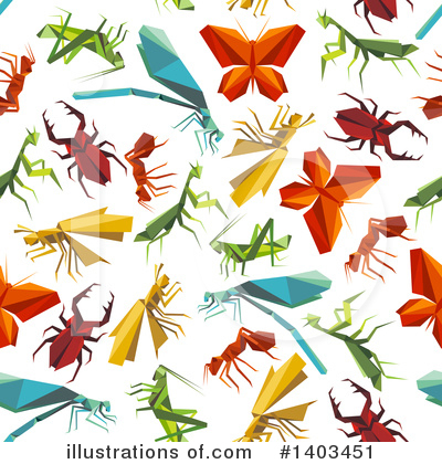 Dragonfly Clipart #1403451 by Vector Tradition SM