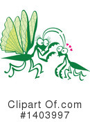 Insect Clipart #1403997 by Zooco
