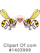 Insect Clipart #1403999 by Zooco