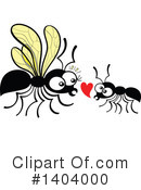 Insect Clipart #1404000 by Zooco