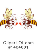 Insect Clipart #1404001 by Zooco