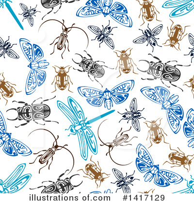 Dragonfly Clipart #1417129 by Vector Tradition SM