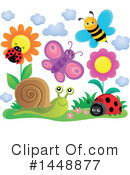 Royalty-Free (RF) Insect Clipart Illustration #1448877