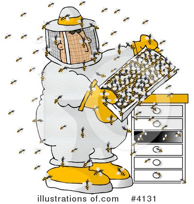 Bee Clipart #4131 by djart