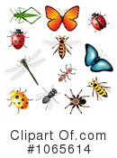 Insects Clipart #1065614 by vectorace