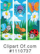 Royalty-Free (RF) Insects Clipart Illustration #1110737