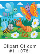 Royalty-Free (RF) Insects Clipart Illustration #1110761