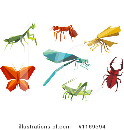 Dragonfly Clipart #1169594 by Vector Tradition SM