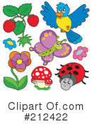 Insects Clipart #212422 by visekart