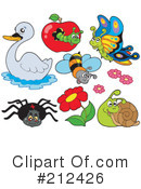 Insects Clipart #212426 by visekart
