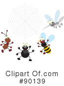 Insects Clipart #90139 by Alex Bannykh