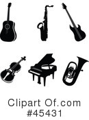Instruments Clipart #45431 by TA Images