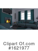 Interior Clipart #1621977 by KJ Pargeter