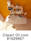 Interior Clipart #1629867 by KJ Pargeter