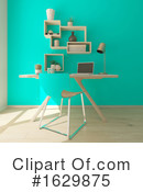 Interior Clipart #1629875 by KJ Pargeter