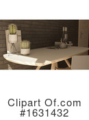 Interior Clipart #1631432 by KJ Pargeter