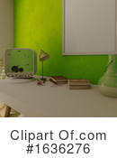 Interior Clipart #1636276 by KJ Pargeter