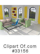 Royalty-Free (RF) Interior Clipart Illustration #33156