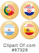 Royalty-Free (RF) International Medal Clipart Illustration #87328