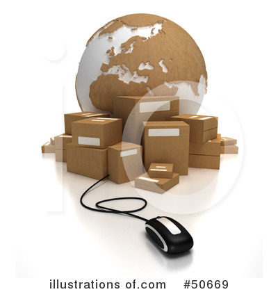Shipping Clipart #50669 by Frank Boston