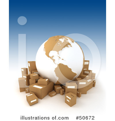 Shipping Clipart #50672 by Frank Boston