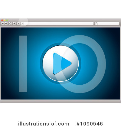 Royalty-Free (RF) Internet Browser Clipart Illustration by michaeltravers - Stock Sample #1090546