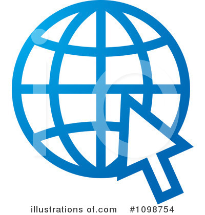 Globe Clipart #1098754 by Lal Perera