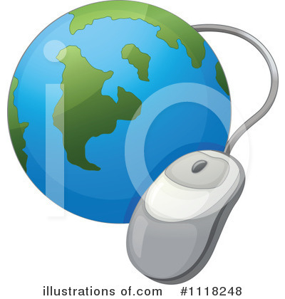 Computer Clipart #1118248 by Graphics RF