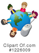Internet Clipart #1226009 by Graphics RF