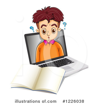 Computer Clipart #1226038 by Graphics RF