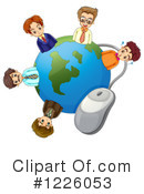 Internet Clipart #1226053 by Graphics RF