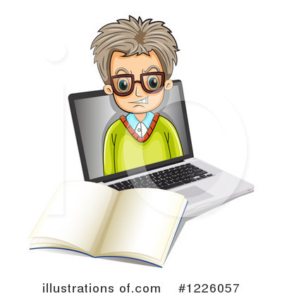 Computer Clipart #1226057 by Graphics RF