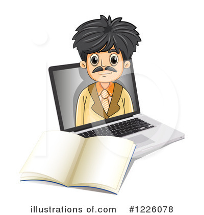 Computer Clipart #1226078 by Graphics RF