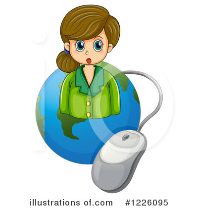 Earth Clipart #1226095 by Graphics RF