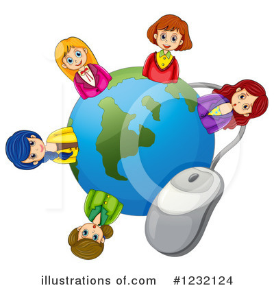 Computer Clipart #1232124 by Graphics RF