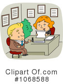 Interview Clipart #1068588 by BNP Design Studio