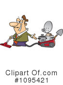 Royalty-Free (RF) inventor Clipart Illustration #1095421
