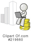 Investing Clipart #219660 by Leo Blanchette