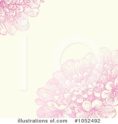 Floral Invite Clipart #1052492 by BestVector