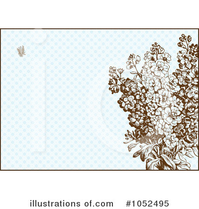 Floral Invite Clipart #1052495 by BestVector