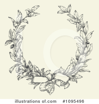 Laurel Wreath Clipart #1095496 by BestVector