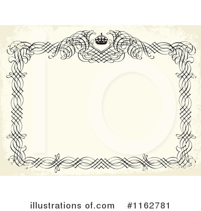 Wedding Invitation Clipart #1162781 by BestVector