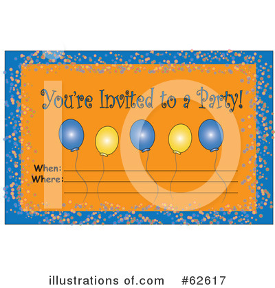 Balloons Clipart #62617 by Pams Clipart