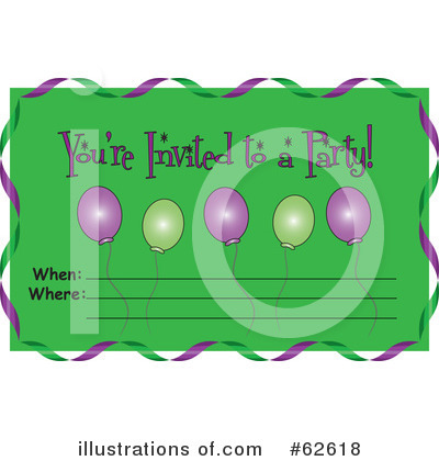 Balloons Clipart #62618 by Pams Clipart